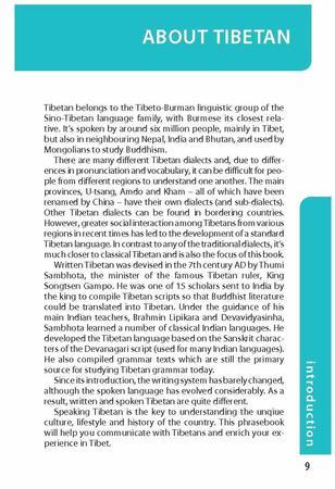 TIBETAN Lonely Planet Phrasebook & Dictionary 2020 (7)