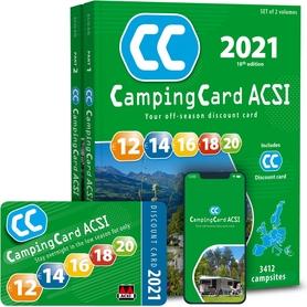 EUROPA Przewodnik CampingCard ACSI i karta rabatowa 2021