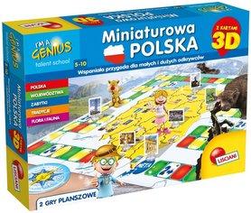 MINIATUROWA POLSKA GRA PLANSZOWA 3D LISCIANI