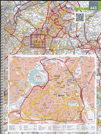 FRANCJA atlas samochodowo turystyczny 1:200 000 MICHELIN 2021 (3)