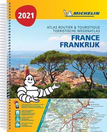 FRANCJA atlas samochodowo turystyczny 1:200 000 MICHELIN 2021 (1)