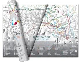 MAPA ZDRAPKA - TATRY POLSKIE - NaGrani 2020