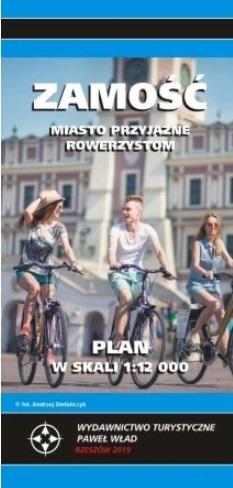 ZAMOŚĆ plan miasta 1:12 000 PAWEŁ WŁAD 2019