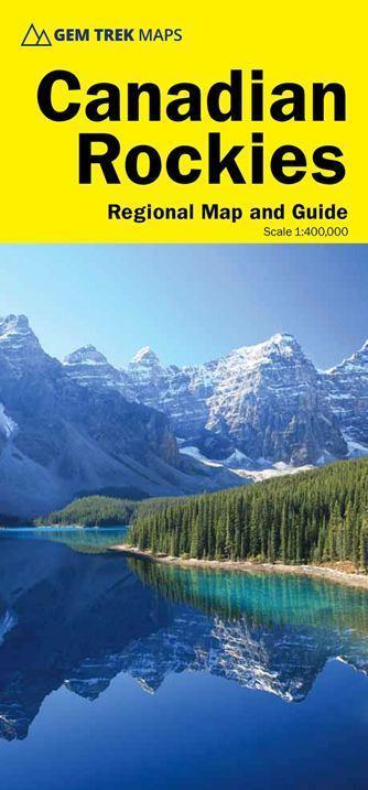 CANADIAN ROCKIES mapa 1:400 000 GEM TREK 2020 (1)