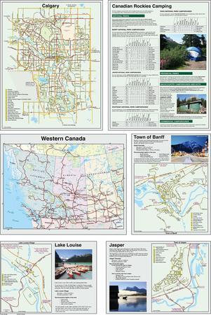 CANADIAN ROCKIES mapa 1:400 000 GEM TREK 2020 (2)