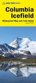 COLUMBIA ICEFIELD mapa i przewodnik GEM TREK 2020