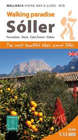 VALL DE SÓLLER (Majorka) 1:15 000 mapa turystyczna ALPINA 2019