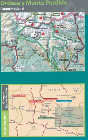 ORDESA MONTE PERDIDO mapa turystyczna 1:40 000 ALPINA 2020/2021 (2)