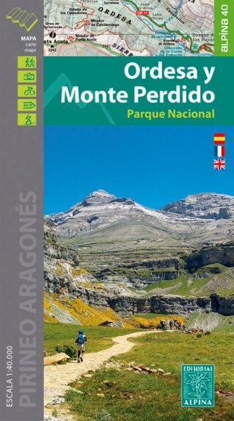 ORDESA MONTE PERDIDO mapa turystyczna 1:40 000 ALPINA 2020/2021 (1)