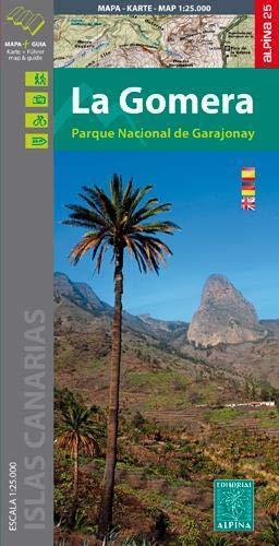 LA GOMERA mapa turystyczna 1:25 000 ALPINA 2020