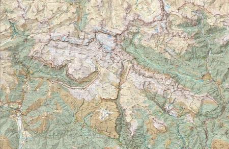 ORDESA MONTE PERDIDO mapa turystyczna 1:25 000 ALPINA 2020/2021 (4)