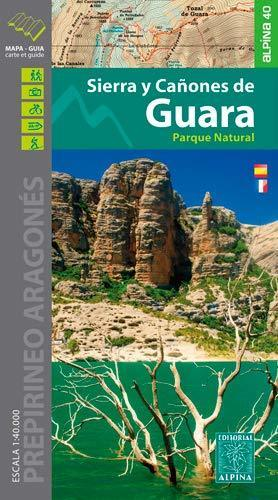 SERRA I CANONS DE GUARA mapa turystyczna 1:40 000 ALPINA 2020