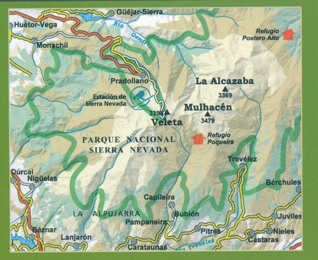 SIERRA NEVADA PN ALPUJARRA mapa turystyczna 1:40 000 ALPINA 2020 (3)