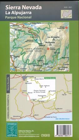 SIERRA NEVADA PN ALPUJARRA mapa turystyczna 1:40 000 ALPINA 2020 (5)
