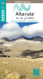 LA ALTA RUTA DE LOS PERDIDOS 1:30 000 map&guide ALPINA 2020