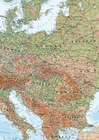 EUROPA ścienna mapa fizyczna laminowana  1:4 300 000 MAPS INTERNATIONAL 2020 (2)