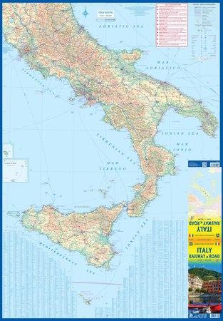 WŁOCHY mapa wodoodporna 1:850 000 ITMB 2020 (3)