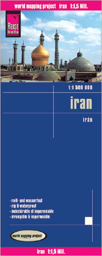IRAN mapa 1:1 500 000 REISE KNOW HOW 2020