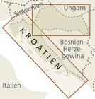 CHORWACJA mapa 1:300 000 / 1:700 000 REISE KNOW HOW 2020 (3)