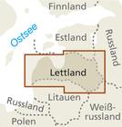 ŁOTWA mapa 1:325 000 REISE KNOW HOW 2019 (3)