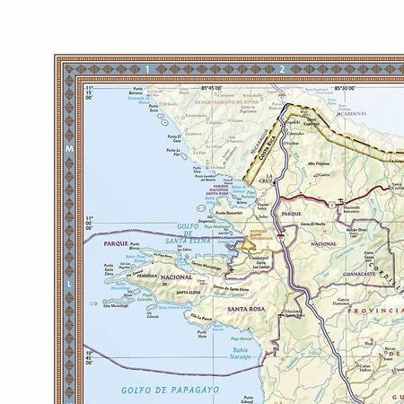 KOSTARYKA mapa ścienna NATIONAL GEOGRAPHIC (4)