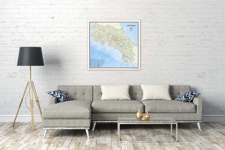 KOSTARYKA mapa ścienna NATIONAL GEOGRAPHIC (5)