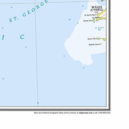 IRLANDIA mapa ścienna NATIONAL GEOGRAPHIC (3)