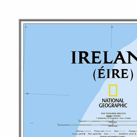 IRLANDIA mapa ścienna NATIONAL GEOGRAPHIC (4)