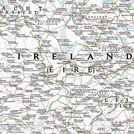 IRLANDIA mapa ścienna NATIONAL GEOGRAPHIC (2)