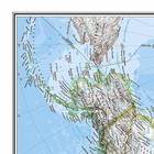 AMERYKA PÓŁNOCNA I POŁUDNIOWA mapa ścienna NATIONAL GEOGRAPHIC (3)
