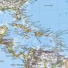 AMERYKA PÓŁNOCNA I POŁUDNIOWA mapa ścienna NATIONAL GEOGRAPHIC (4)