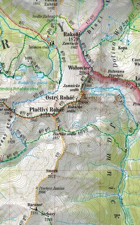 TATRY POLSKIE I SŁOWACKIE 1:55 000 laminowana mapa turystyczna EXPRESSMAP 2020 (2)