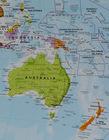 ŚWIAT mapa ścienna 69 x 53 cm 1:60 000 000 Maps International (2)