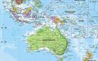 ŚWIAT 1:30 000 000 PACYFIKOCENTRYCZNA laminowana mapa ścienna MAPS INTERNATIONAL (3)