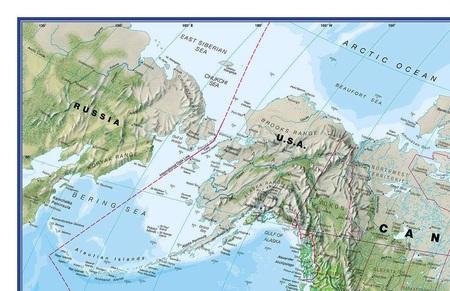 ŚWIAT 136 x 86 cm laminowana mapa ścienna z zawieszką 1:30 000 000 MAPS INTERNATIONAL (2)