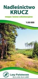 NADLEŚNICTWO KRUCZ mapa leśno-edukacyjna 1:50 000 TOPMAPA 2020