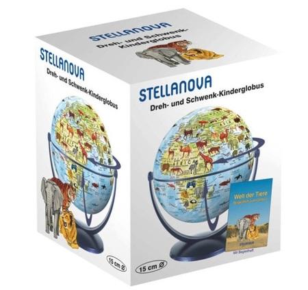 GLOBUS 15 cm Świat Zwierząt STELLANOVA (3)