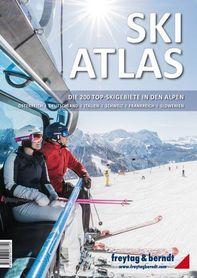 SKI ATLAS 200 najlepszych terenów narciarskich w Alpach FREYTAG&BERNDT
