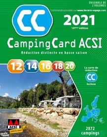 EUROPA Przewodnik CampingCard ACSI i karta rabatowa 2021 j.francuski