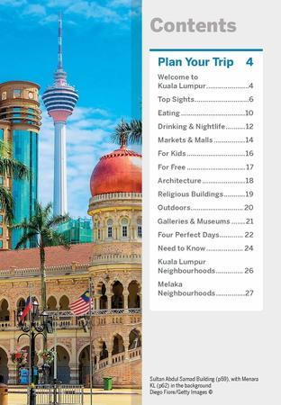 Kuala Lumpur & Melaka przewodnik z mapą POCKET LONELY PLANET 2020 (2)