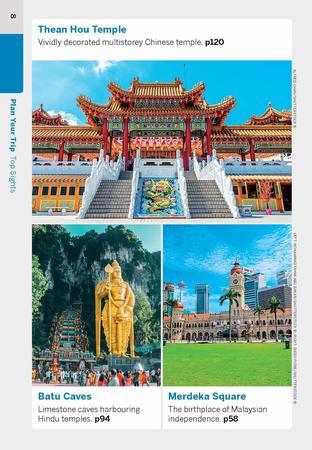 Kuala Lumpur & Melaka przewodnik z mapą POCKET LONELY PLANET 2020 (6)
