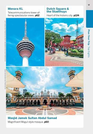 Kuala Lumpur & Melaka przewodnik z mapą POCKET LONELY PLANET 2020 (7)