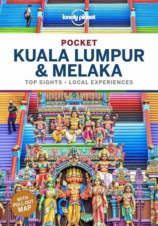 Kuala Lumpur & Melaka przewodnik z mapą POCKET LONELY PLANET 2020 (1)
