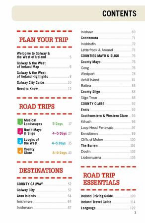 Galway & the West of Ireland Road Trips przewodnik LONELY PLANET 2020 (7)