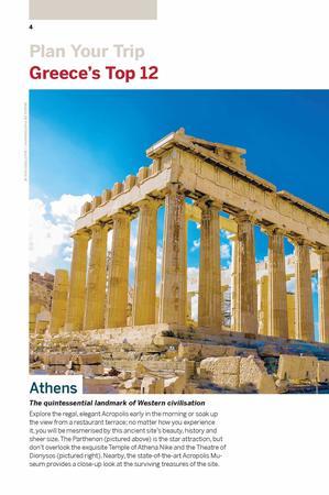 GRECJA I WYSPY GRECKIE Best of przewodnik LONELY PLANET 2020 (3)