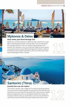 GRECJA I WYSPY GRECKIE Best of przewodnik LONELY PLANET 2020 (5)