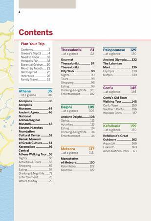 GRECJA I WYSPY GRECKIE Best of przewodnik LONELY PLANET 2020 (2)