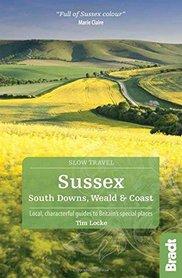 SUSSEX South Downs, Weald and Coast przewodnik BRADT