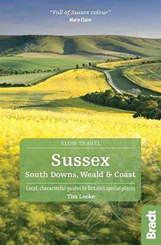 SUSSEX South Downs, Weald and Coast przewodnik BRADT (1)