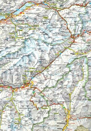 SZWAJCARIA 2021 mapa samochodowa 1:275 000 KUMMERLY+FREY (2)